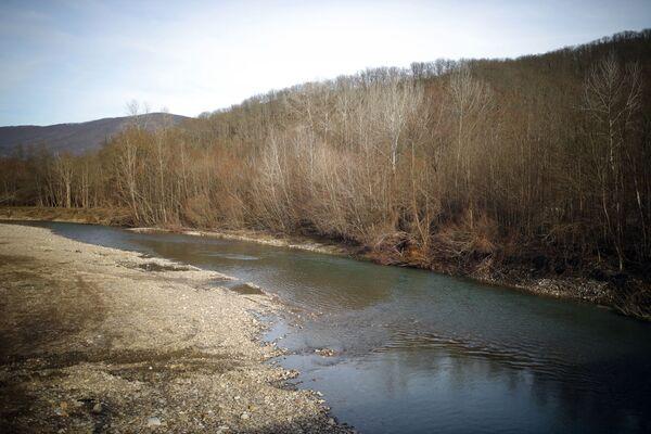 Река Псекупс в Краснодарском крае