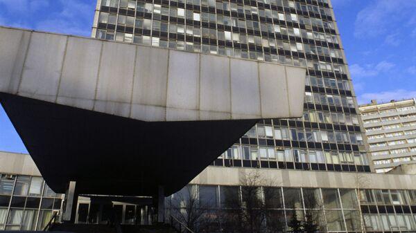 Здание Всесоюзного проектно-изыскательского и научно-исследовательского института Гидропроект имени С. Я. Жука