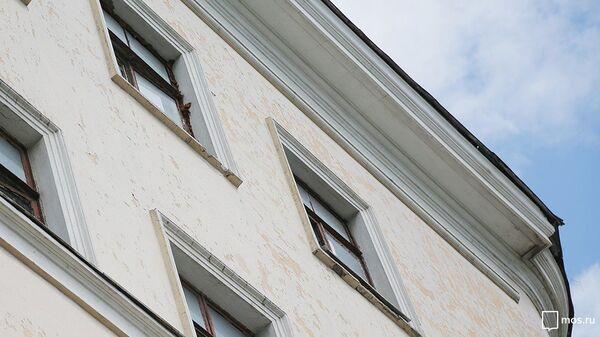 Дореволюционное здание в Таганском районе Москвы