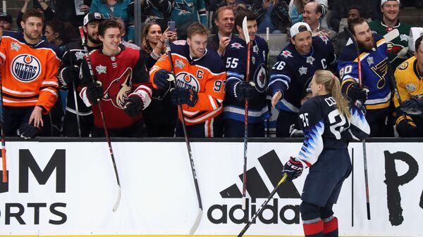 Кендалл Койн на Матче звезд НХЛ