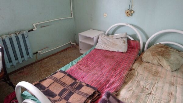 Фото палаты Тутаевской ЦРБ, опубликованное пациентами в соцсетях