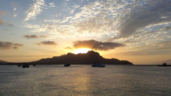 Корабли в акватории Кабо-Верде