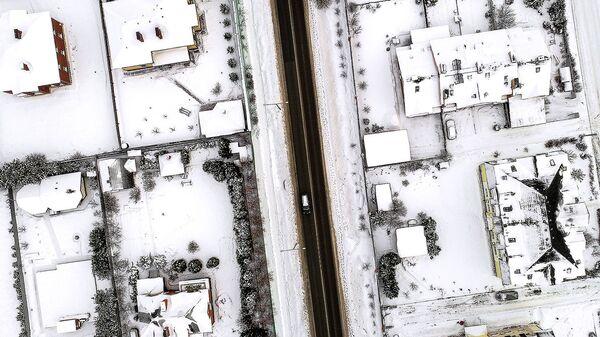 Вид на поселок в Московской области