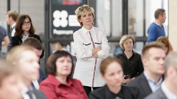Председатель комитета по печати и массовым коммуникациям Тульской области Марина Панова