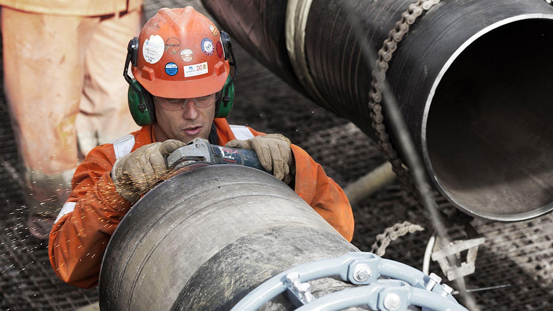 Подготовка к строительству газопровода Baltic Pipe - РИА Новости, 1920, 23.09.2020