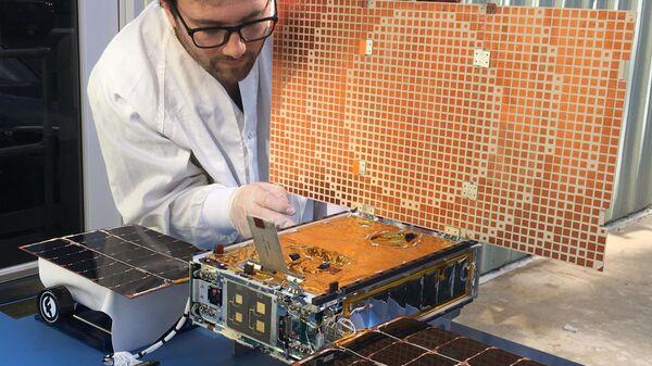 Марсианский наноспутник MarCO-1