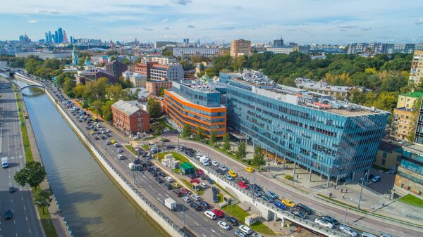 Бизнес-центр Silver City на Садовом кольце в Москве