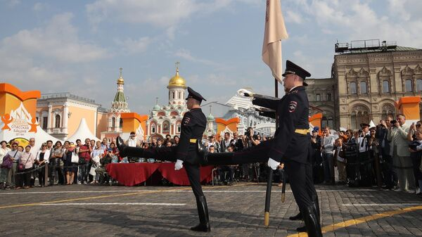 На Красной площади пройдет Конкурс молодежных почетных караулов