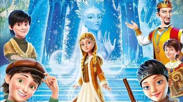 Плакат к фильму Снежная Королева. Зазеркалье