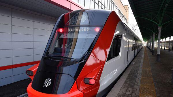 Поезда  Иволга запустили с Белорусского вокзала