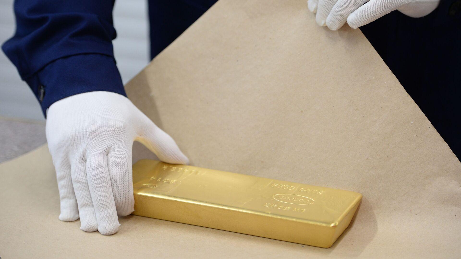 Россия идет на новый рекорд по производству золота, считает эксперт