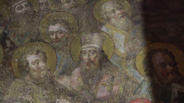 Фреска Успенского собора Ростова Великого