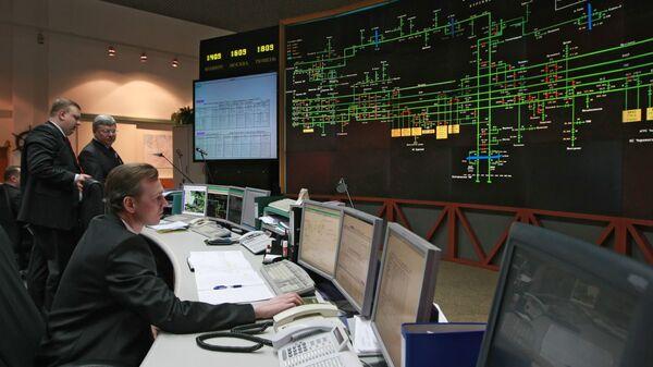 В диспетчерском центре ОАО Газпром