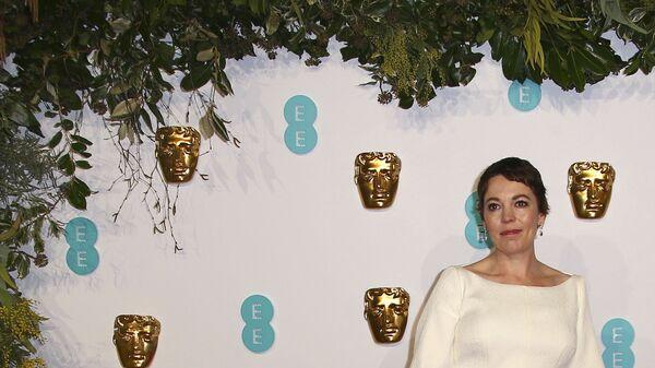 Британская актриса Оливия Колман на BAFTA-2019