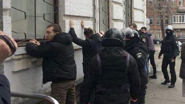 Задержание радикалов в Киеве. 9 февраля 2019
