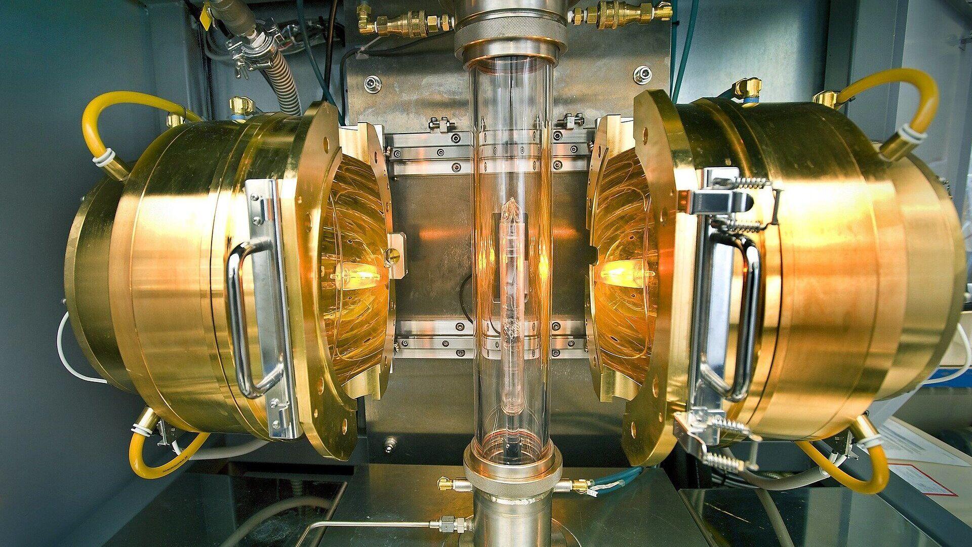 Установка, где был синтезирован сверхпроводник из лантана и водорода - РИА Новости, 1920, 09.09.2020