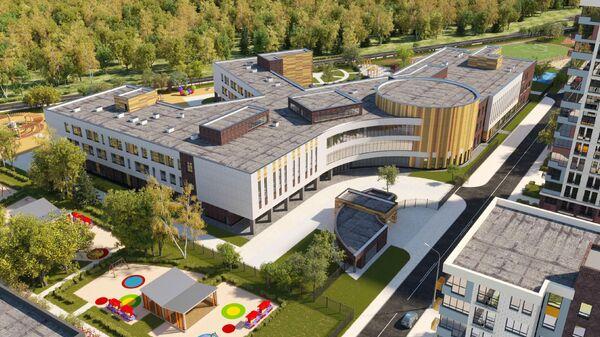 Проект школы в новой Москве