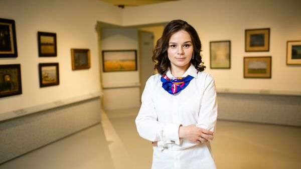 Директор Музея русского импрессионизма Юлия Петрова