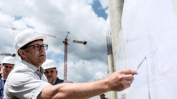 Строительство стадиона Ростов-Арена к ЧМ-2018