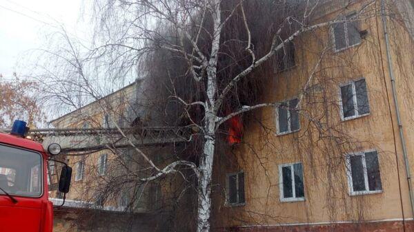 Пожар в спальном корпусе Нижнетагильского детского дома-школы по ул.Красногвардейской. 14 февраля 2019