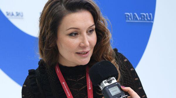 Генеральный директор Агентства стратегических инициатив по продвижению новых проектов Светлана Чупшева. 13 февраля 2019
