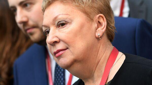 Министр просвещения РФ Ольга Васильева на Российском инвестиционном форуме в Сочи