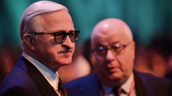 Президент Российского союза промышленников и предпринимателей Александр Шохин на Российском инвестиционном форуме в Сочи