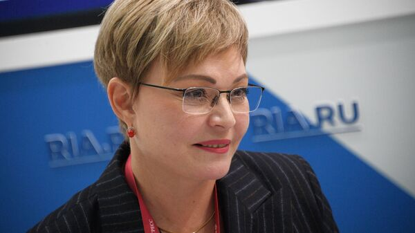 Губернатор Мурманской области Марина Ковтун