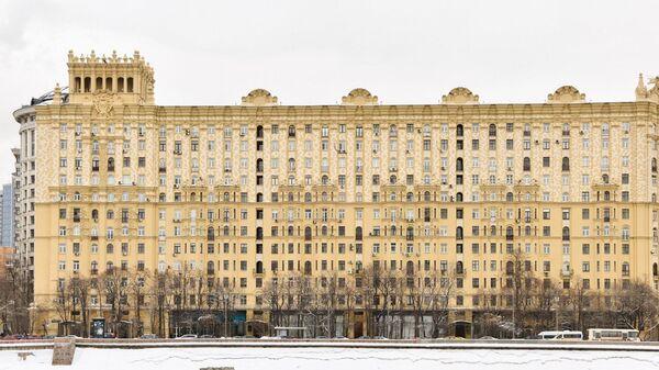 Дом на Смоленской набережной в Москве