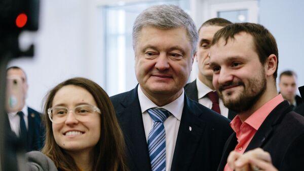 Президент Украины Петр Порошенко на открытии Харьковской областной филармонии после реконструкции. 14 февраля 2019
