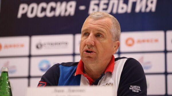 Главный тренер сборной России по регби Лин Джонс