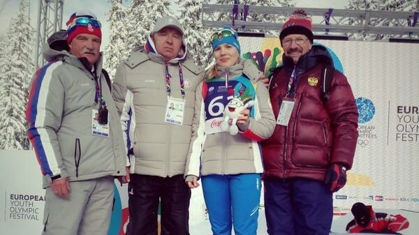 Семнадцатилетняя российская биатлонистка Софья Цыплухина