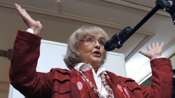 Народная артистка СССР Ада Роговцева