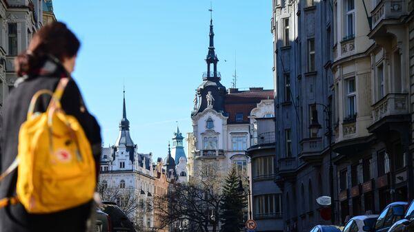 Одна из улиц в Праге