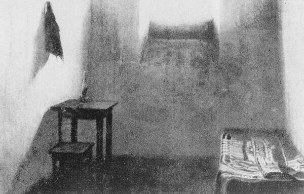 Камера пермской тюрьмы, в которой отбывал заключение революционер Яков Михайлович Свердлов в 1906 году