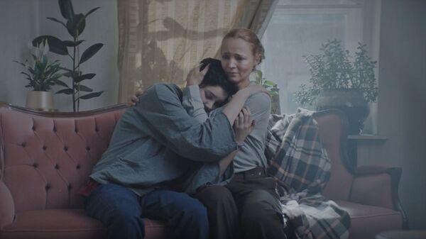 Кадр из социального ролика режиссера Валерии Германики для православной службы Милосердие
