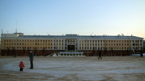 Главный корпус Вятского государственного университета