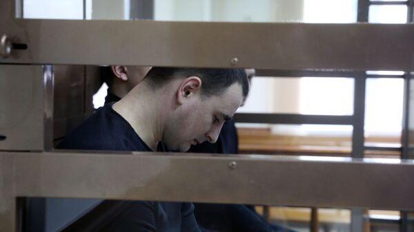 Моряк Василий Сорока в Московском городском суде