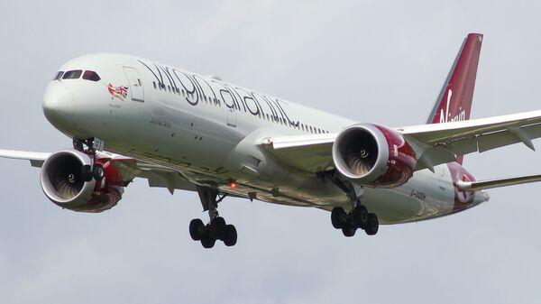 Самолет Boeing 787-9 Dreamliner авиакомпании Virgin Atlantic