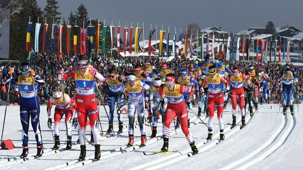 Лыжные гонки. Чемпионат мира. Женщины. Скиатлон