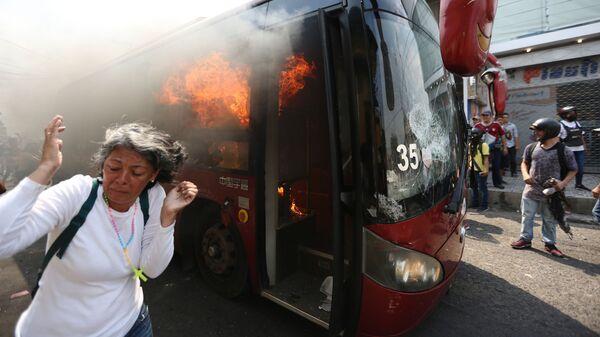 Столкновения на границе Венесуэлы и Колумбии
