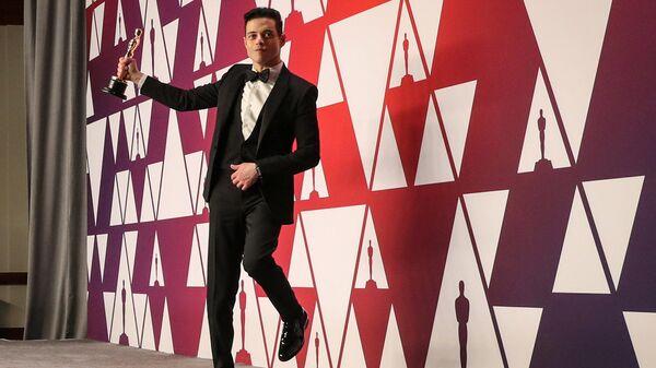 Рами Малек на церемонии вручения наград премии Оскар-2019