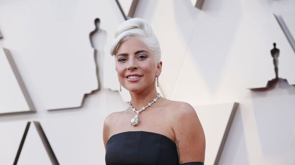 Леди Гага на церемонии вручения премии Оскар. 24 февраля 2019