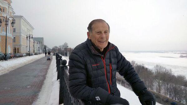 Пенсионер-альпинист из Нижнего Новгорода Зиновий Славинский