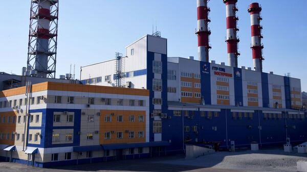Тепловая электростанция Восточная во Владивостоке