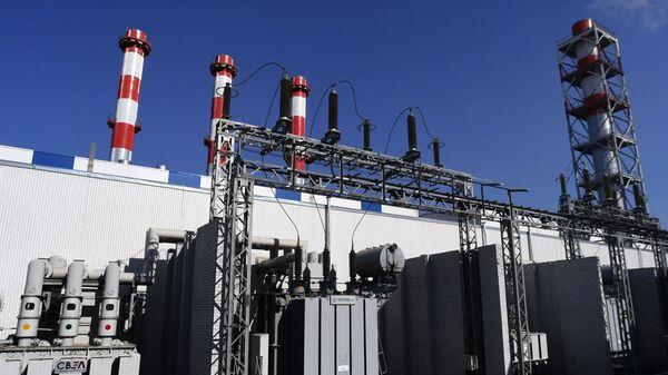 Силовые трансформаторы на тепловой электростанции Восточная во Владивостоке