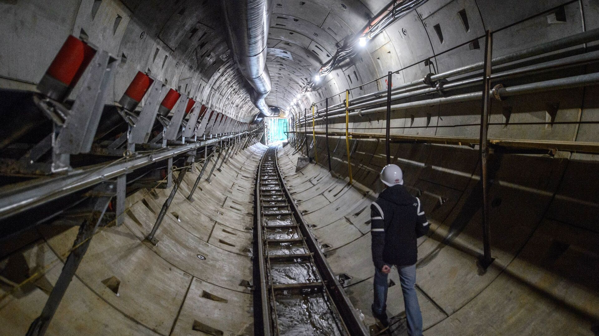 Строительство метро - РИА Новости, 1920, 28.06.2021