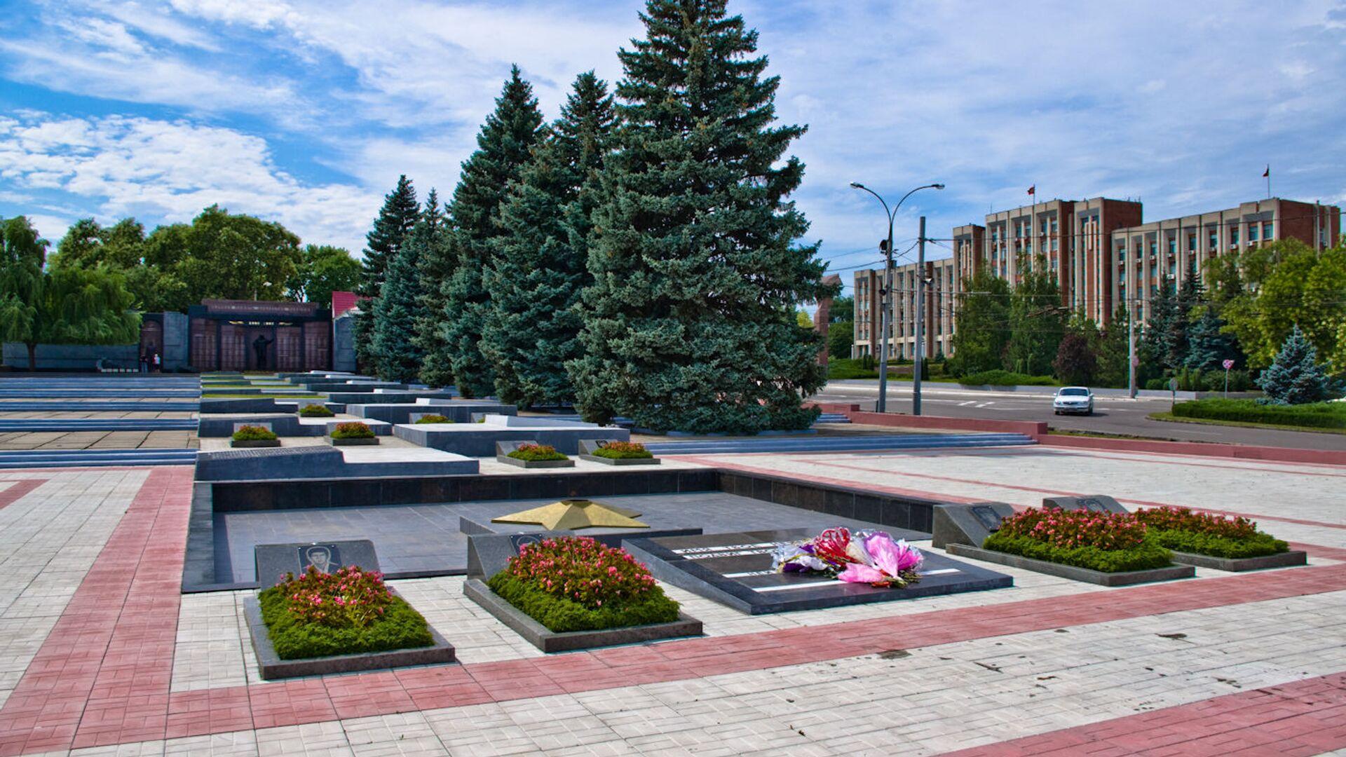 Мемориал Славы в Тирасполе, Приднестровье - РИА Новости, 1920, 09.05.2021