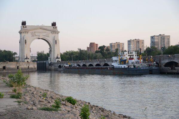 Шлюз Волго-Донского канала