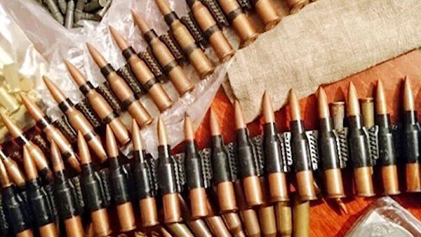 Боеприпасы, найденные сотрудниками управления ФСБ по Белгородской области